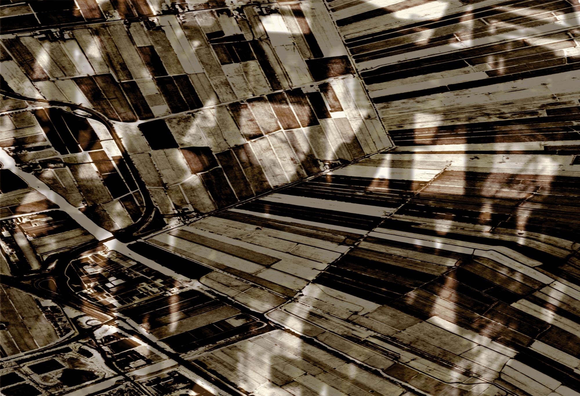 Land  Fall  (2001)  Foto op paneel, 120 x 80