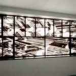 Still Holland, 2000, Gemeentemuseum den Haag,  prints on polyesterfilm fit in existing window framework.