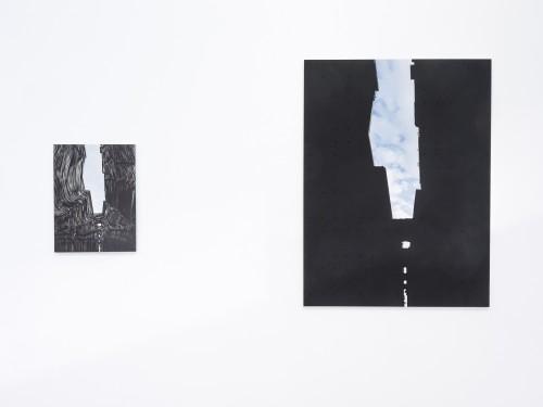 Tout tombe à terre (2015, at JCA de Kok artspace)
